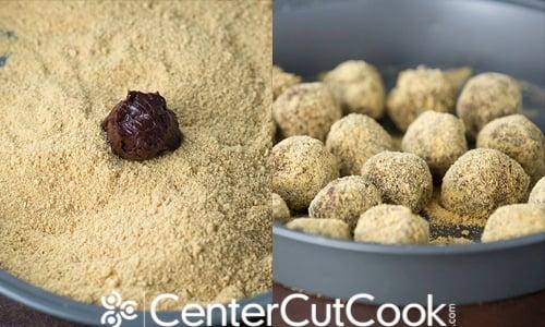 mores Truffles Recipe