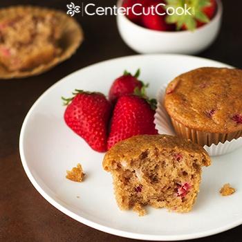Strawberry Yogurt Muffins 2