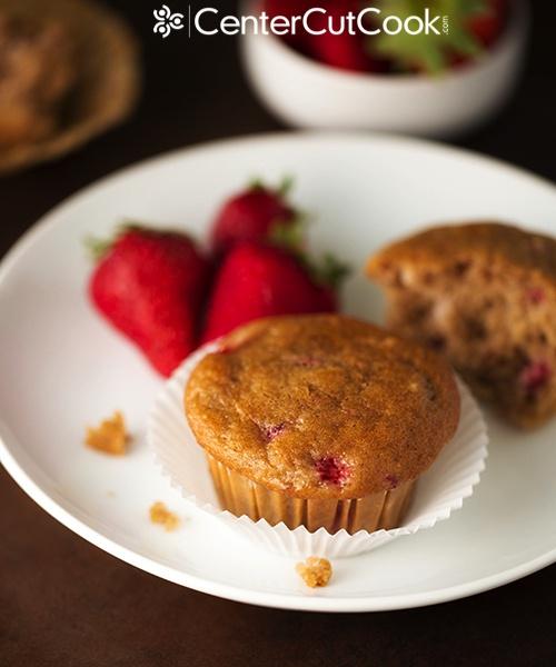 Strawberry Yogurt Muffins 5