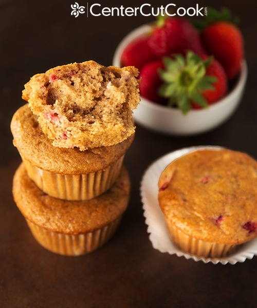 Strawberry Yogurt Muffins 6