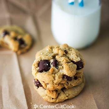 Salted brown butter chocolate chunk cookies 2