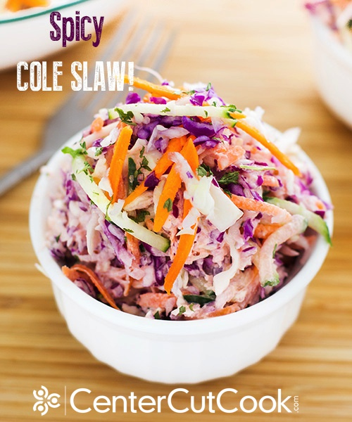 Spicy cole slaw 3