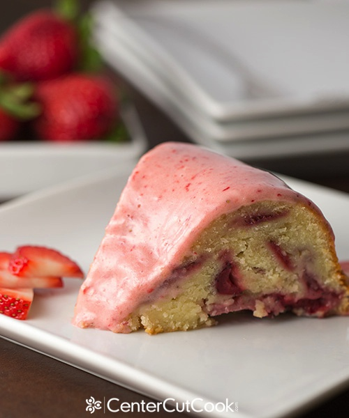 What are you waiting for? Go make this strawberry cake. It is so moist ...