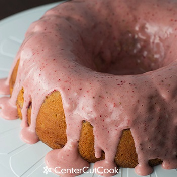 Strawberry yogurt cake 2