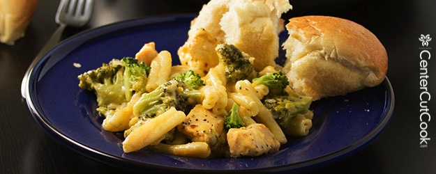 Cheddar Broccoli and Chicken Skillet