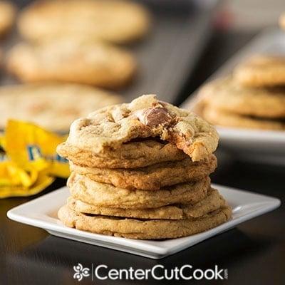 Butterfinger cookies 2
