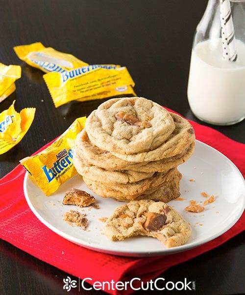 Butterfinger cookies 6