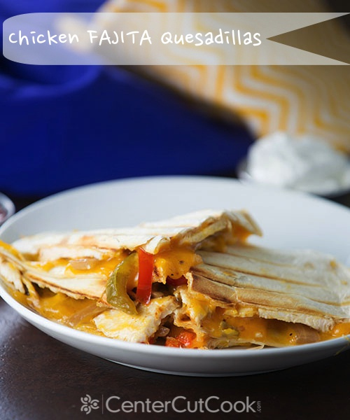 Chicken fajita quesadillas 3 2
