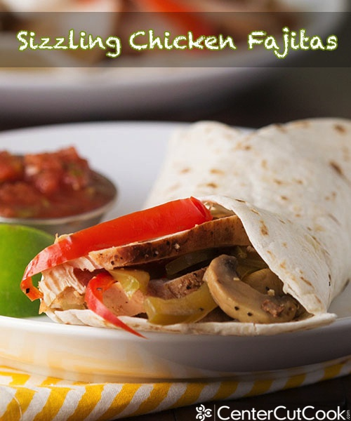 Chicken fajitas 3