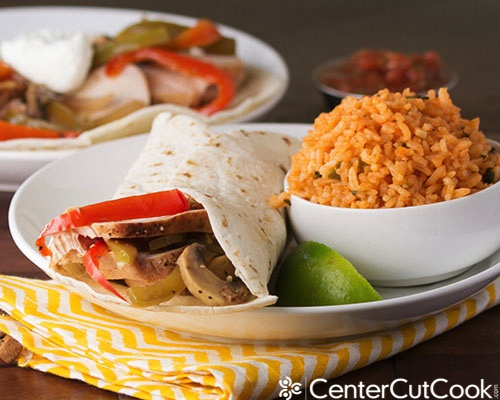 Chicken fajitas 4