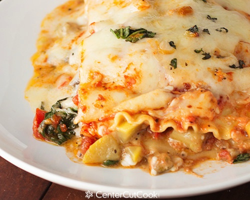 Vegetable lasagna 6