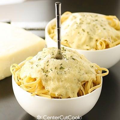Creamy alfredo sauce 2