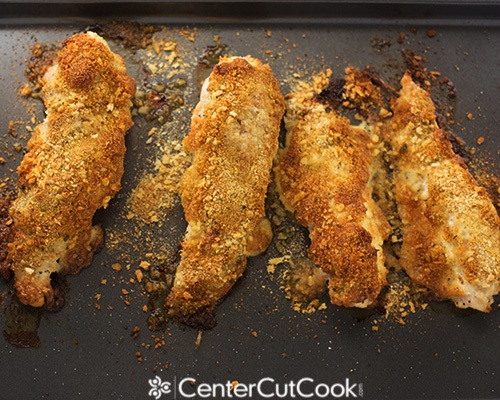 Parmesan crusted chicken 3