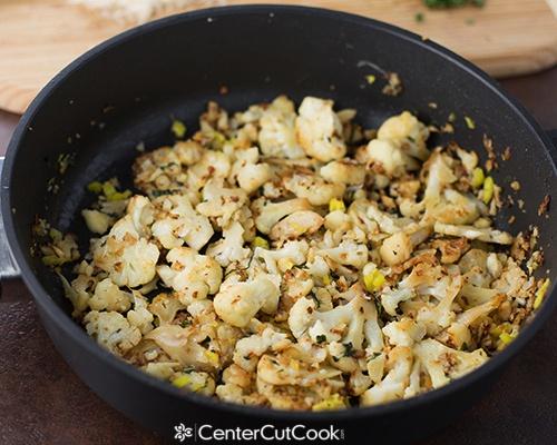 Roasted cauliflower 5