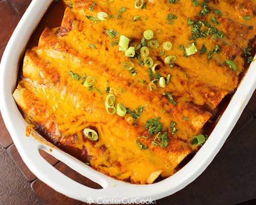 Spicy Cheese And Beef Enchiladas 3