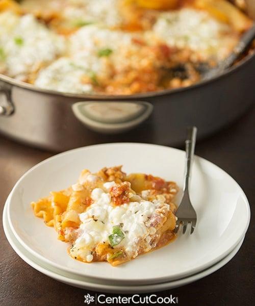 Spicy skillet lasagna 4