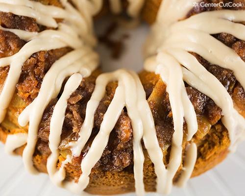 Pumpkin Apple Spice Cake 4