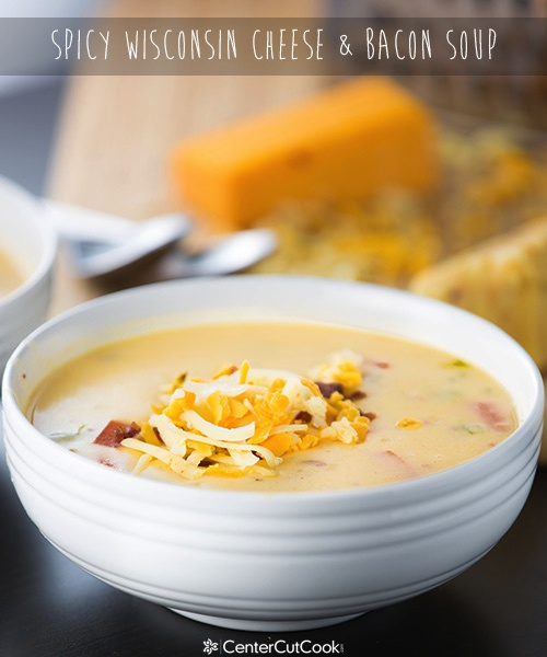 Spicy Wisconsin Cheese  Bacon Soup 5