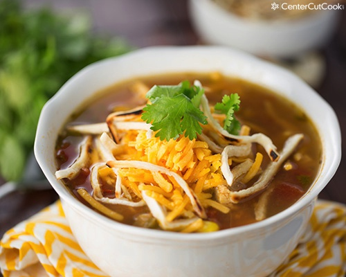 Chicken tortilla soup 4