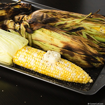 How to grill corn 2