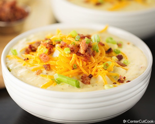 Loaded baked potato soup 4