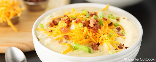 Ultimate Loaded Baked Potato Soup