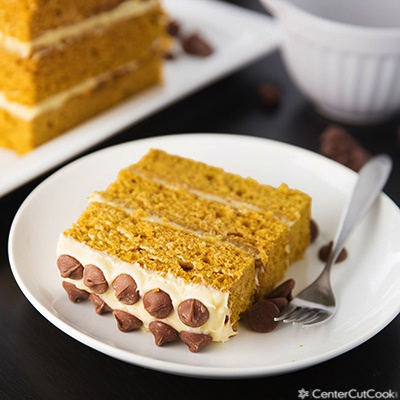 Pumpkin layer cake 2