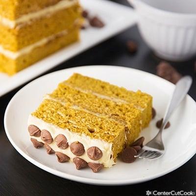 Pumpkin layer cake 2