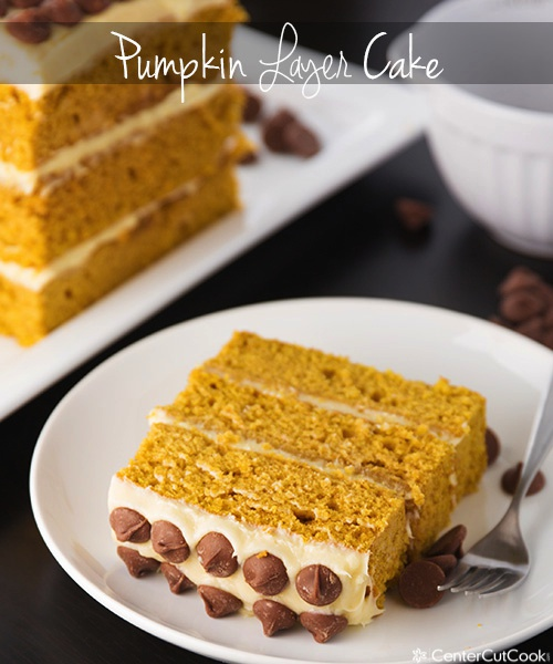 Pumpkin layer cake 3