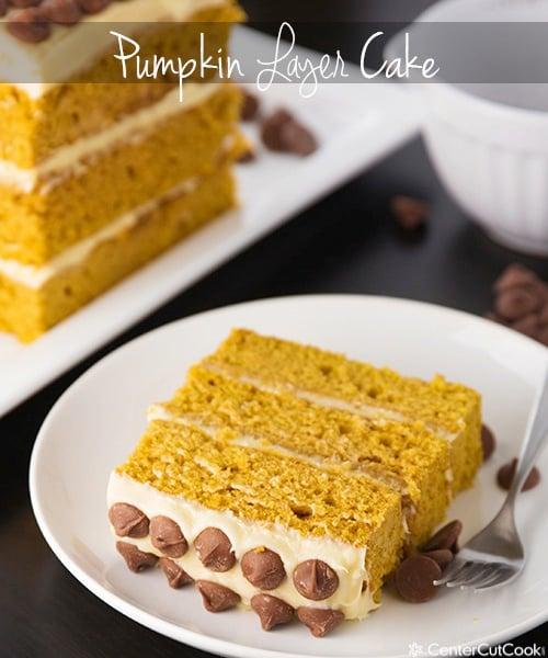 Pumpkin layer cake 3