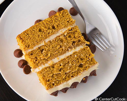 Pumpkin layer cake 4