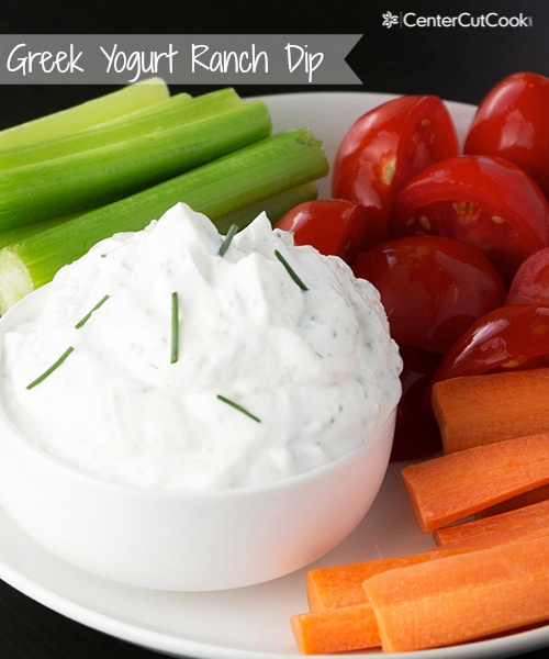 Ranch greek yogurt dip 5