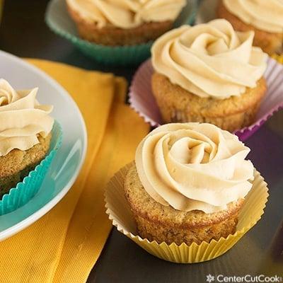 Banana bread cupcakes 2