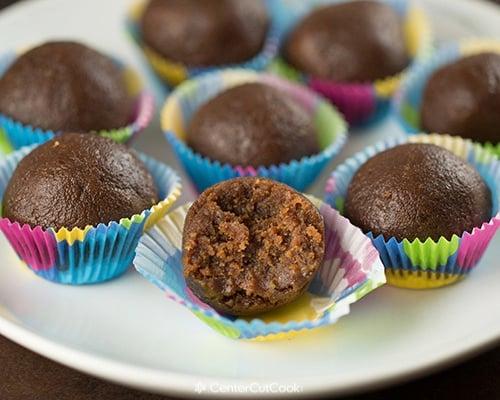 Chocolate peanut butter larabar bites 4