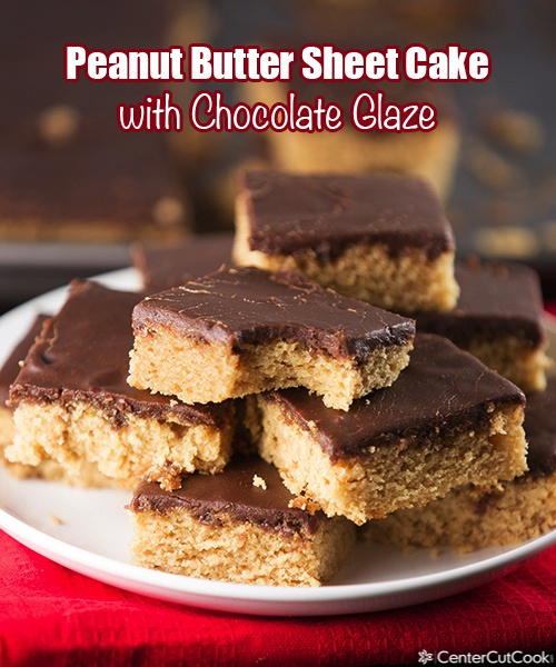Peanut butter sheet cake 3