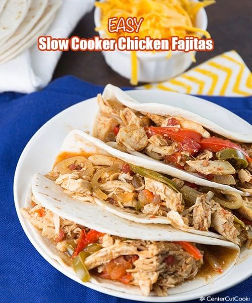 Slow cooker chicken fajitas 6