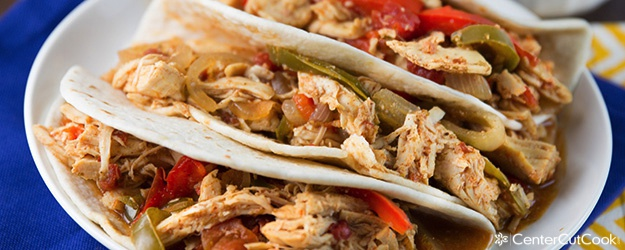 Easy slow cooker chicken fajitas recipe easy slow cooker chicken fajitas forumfinder Gallery