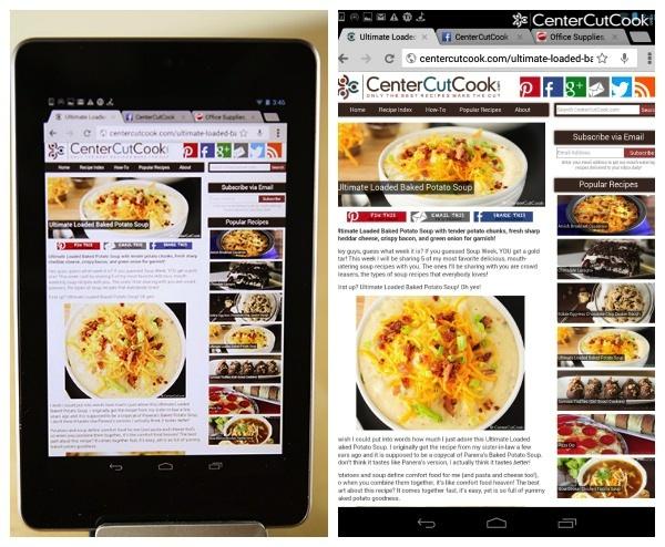 Nexus 7 Soup