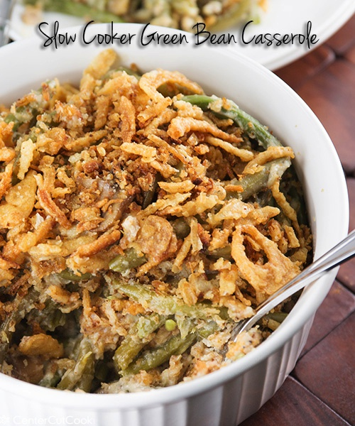 Green bean casserole 4