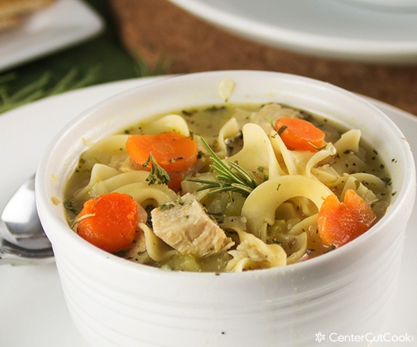 Chicken noodle soup 3