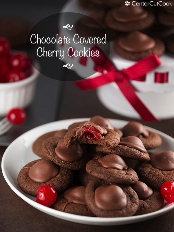 Chocolate covered cherry cookies 3