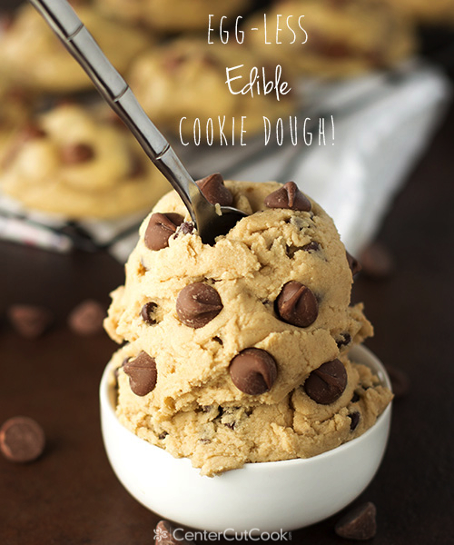 Edible chocolate chip cookie dough 5