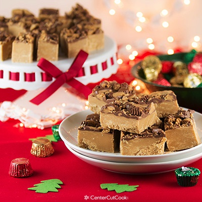 Easy Peanut Butter Cup Fudge