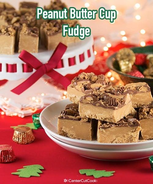 Peanut butter cup fudge 3