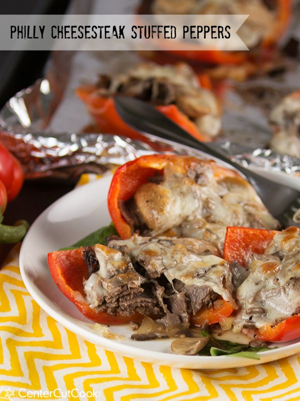 Philly cheesesteak stuffed peppers 8 2