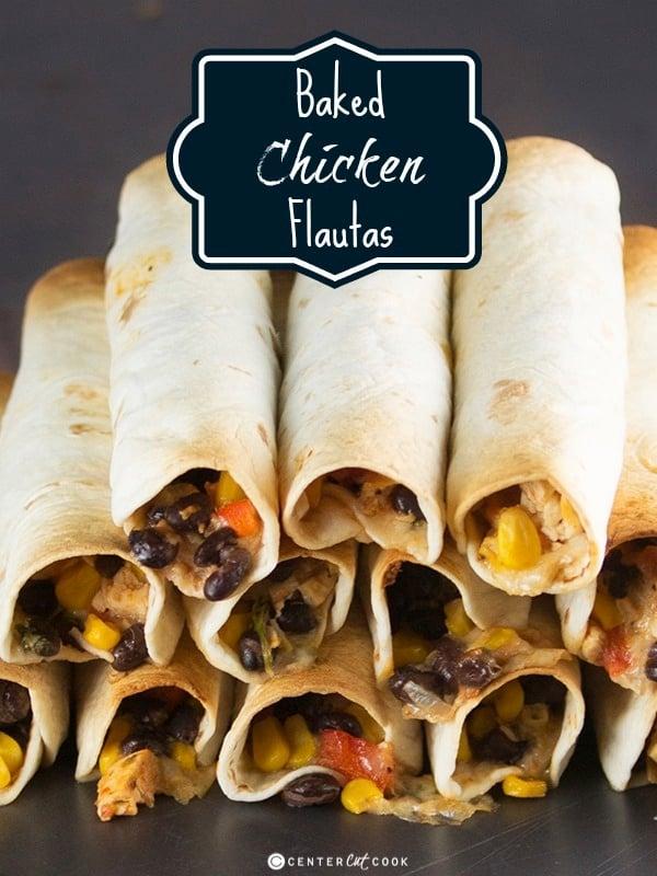 Chicken flautas 5
