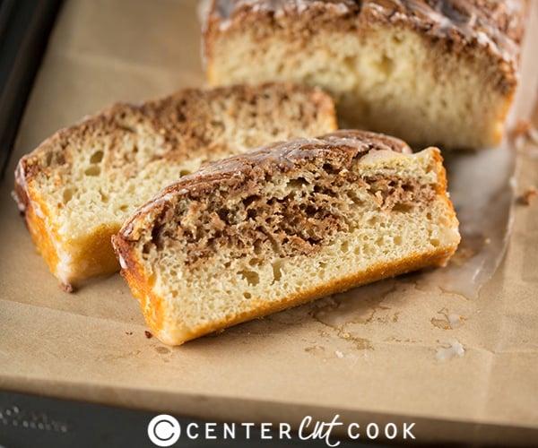 Cinnamon roll bread 4