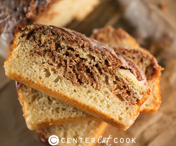 Cinnamon roll bread 5