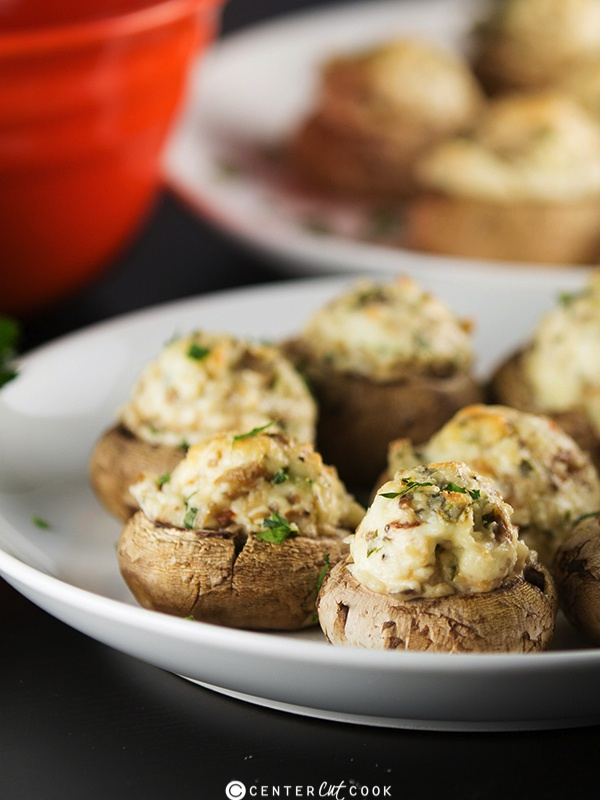 Stuffed mushrooms 5