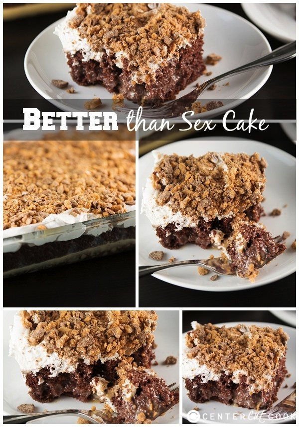 Better than sex cake collage